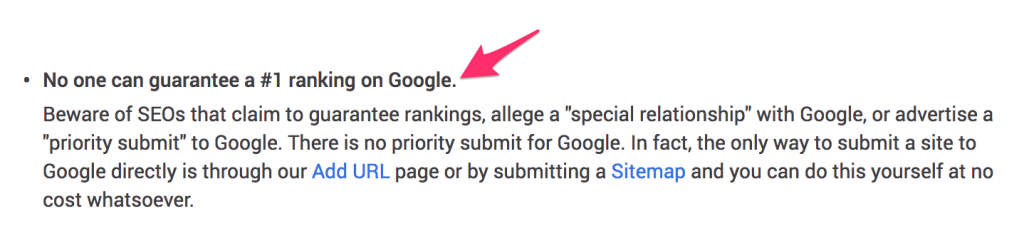 Why No Agency Can Guarantee You Rankings