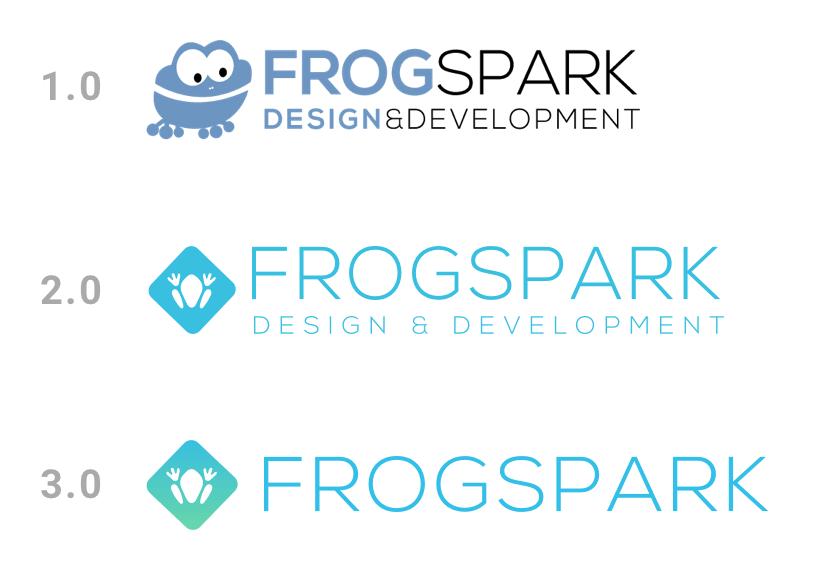 frogspark branding change