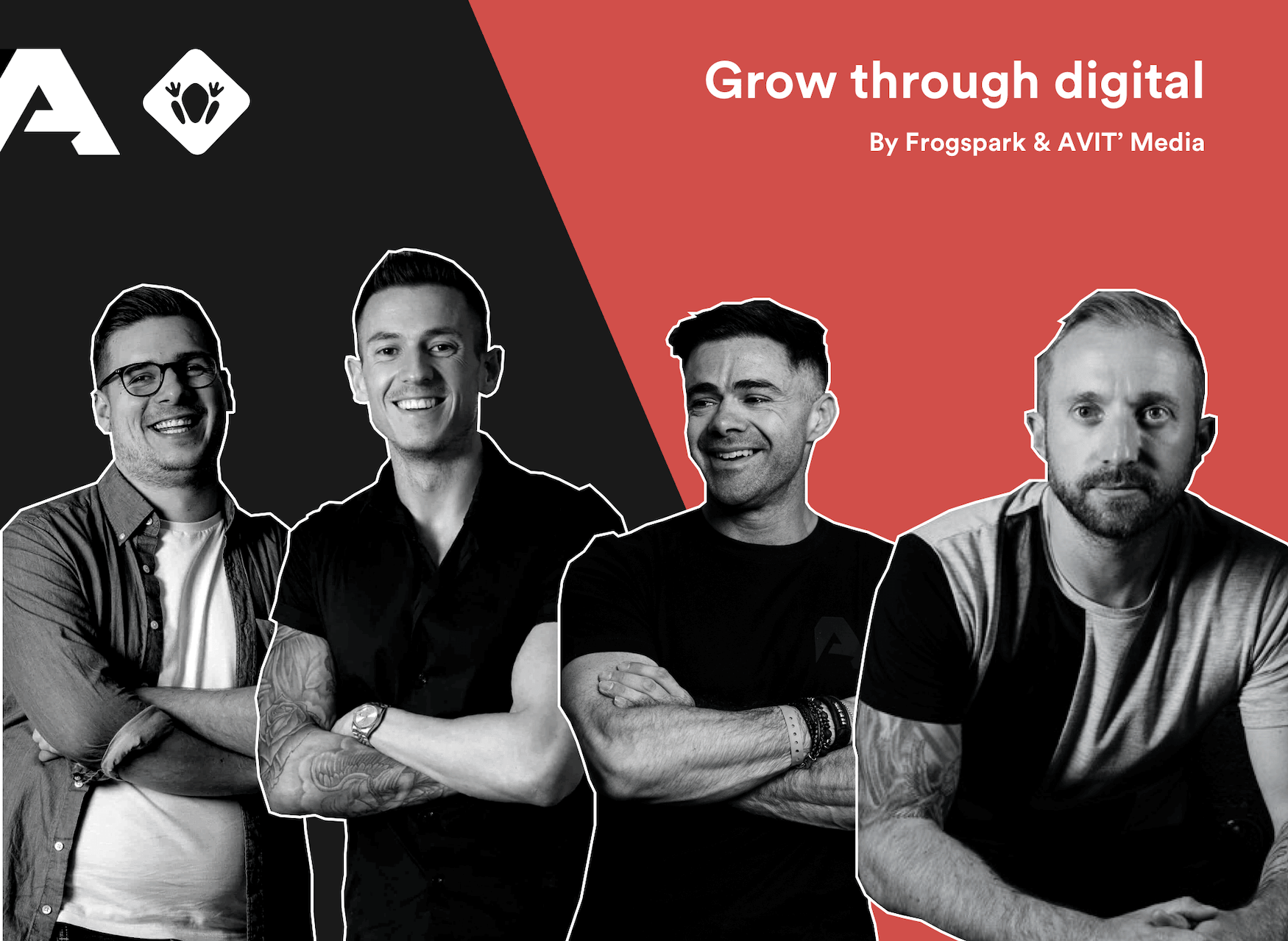 Grow Through Digital Event by Frogspark & AVIT Media