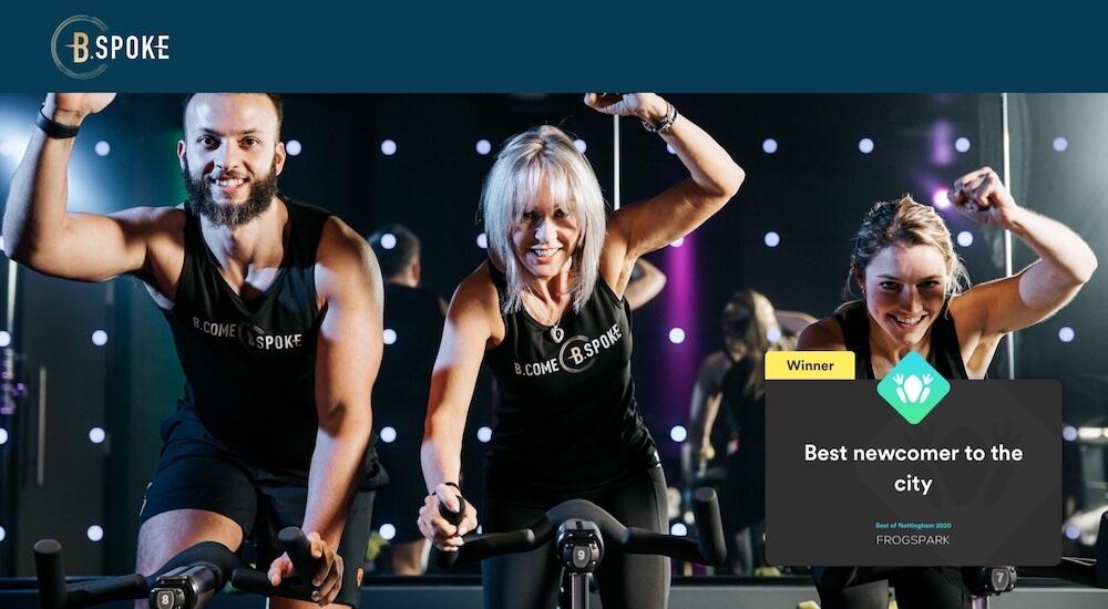 Best of Nottingham 2020 - Frogspark Award - Web Design & Marketing Agency - BSpoke