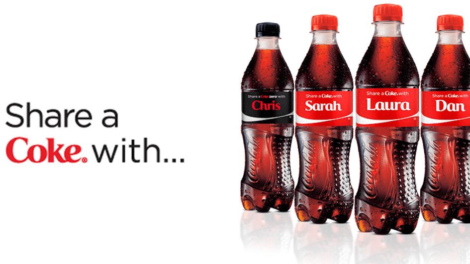 Share A Coke Hashtags Frogspark